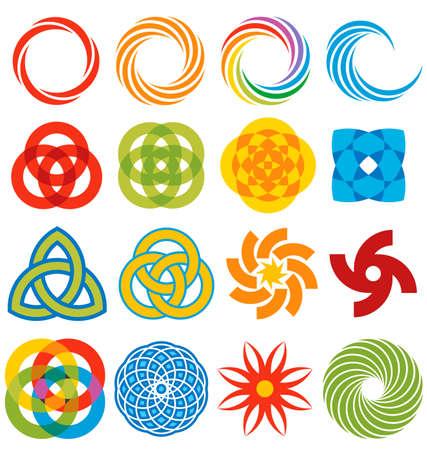 circulos concentricos: Una serie de elementos gr�ficos geom�tricos, todo ello basado en los anillos y arcos.