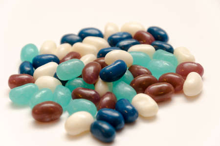 jellybean: A pile of delicious jelly beans that would make a good snack.