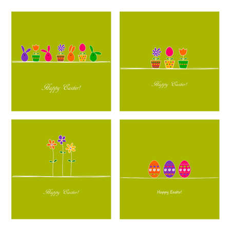 Set of Easter covers  photo