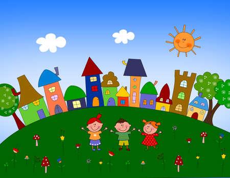 hamlet: Little village