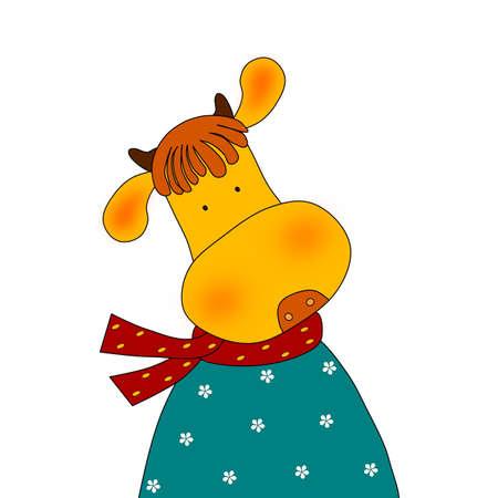 Cow - Cartoon character photo