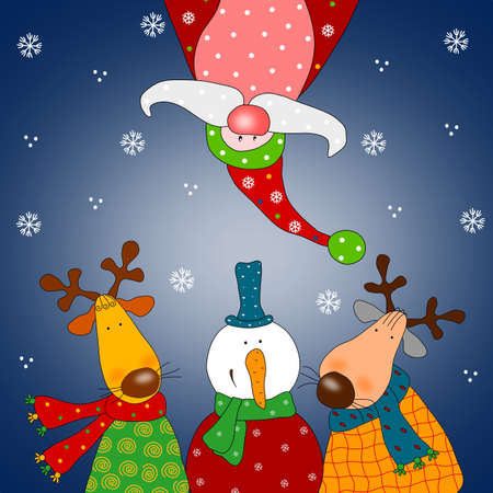 Christmas illustration illustration