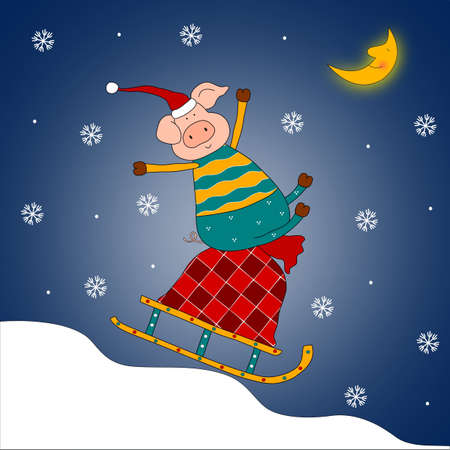 Christmas illustration illustration