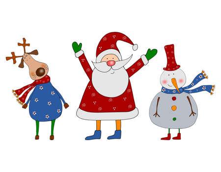 Christmas characters Stock Photo - 11696508