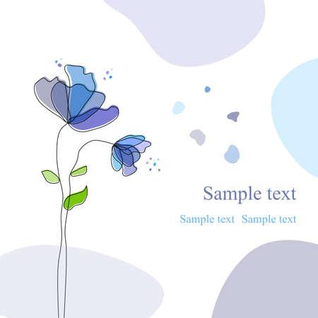 Çiçek arka plan