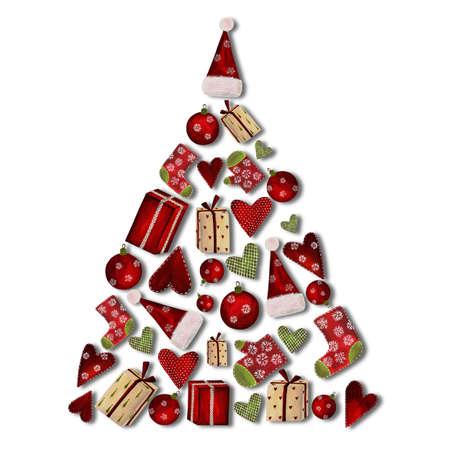 Collage. Christmas tree Stock Photo - 11696614
