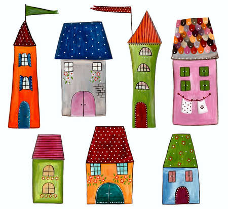 Buildings. Decorative elements