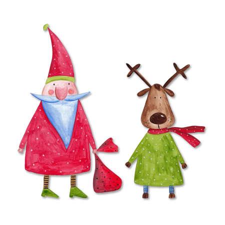 Greeting card  Handmade illustration
