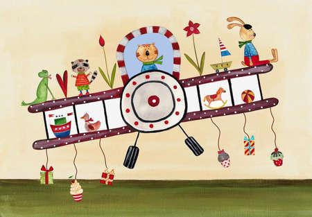 Birthday greeting card Reklamní fotografie - 17076630