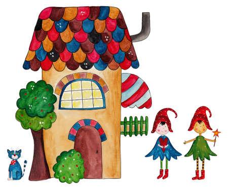 The fairies house Stock Photo