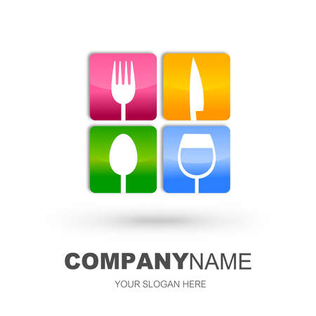Restaurant icon design