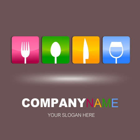 Restaurant icon design Stock Photo - 18140535