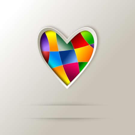 Özet logo tasarımı Stock Photo