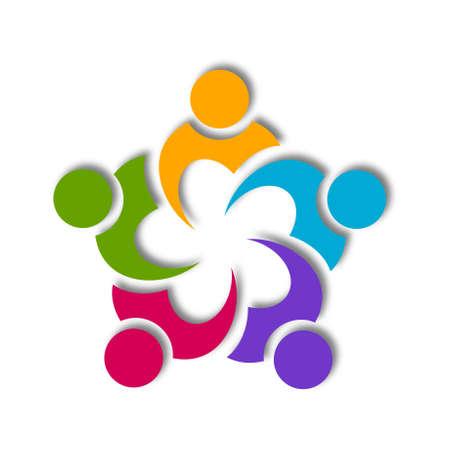 Cooperation Icon Design Stock Photo - 20405471