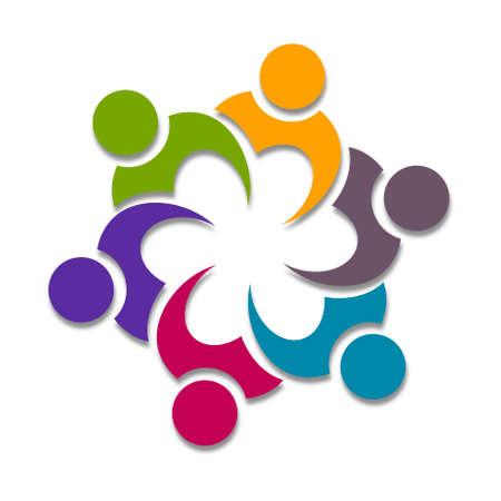 Cooperation Icon Design
