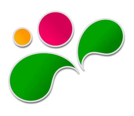 Multicolor plant design Stock Photo - 20533178