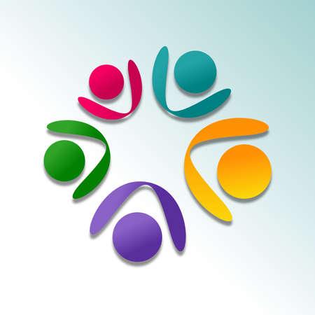 Cooperation Icone Design Stock Photo - 20989803