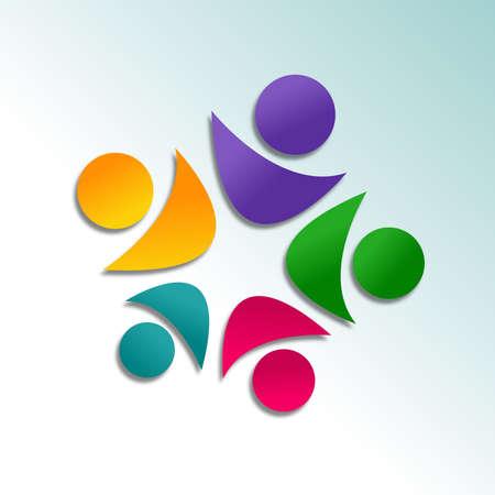 Cooperation Icone Design Stock Photo - 20989804
