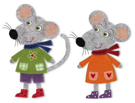 fairly: Mice, cartoon characters