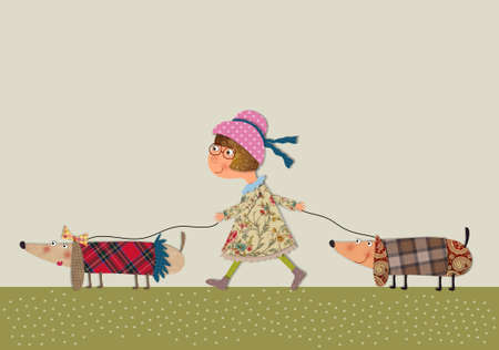personages: the dog sitter