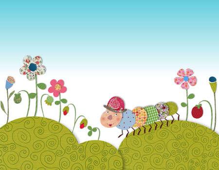 fairly: Little caterpillar