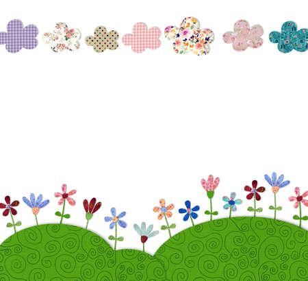 fairly: flower field