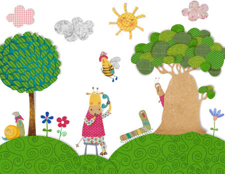 rag: Illustration for children
