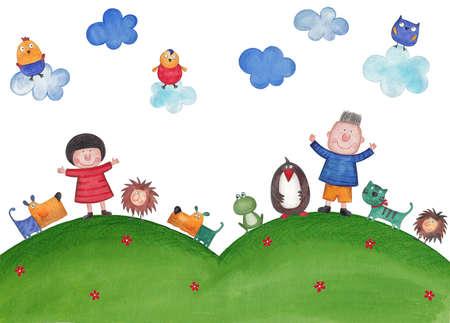 illustration for children illustration