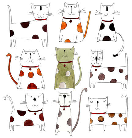 cats pattern Imagens