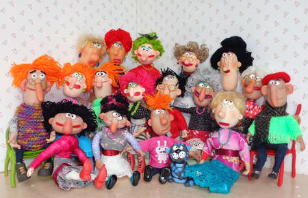 Puppets big family