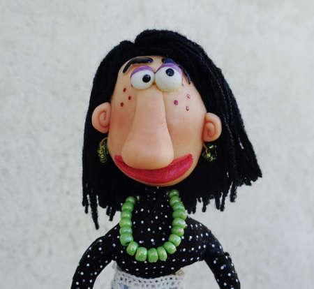 Puppet lady photo