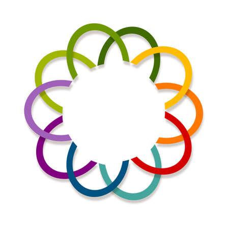 simbol: Innovation. Abstract  design