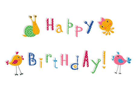 title emotions: Birthday greeting card