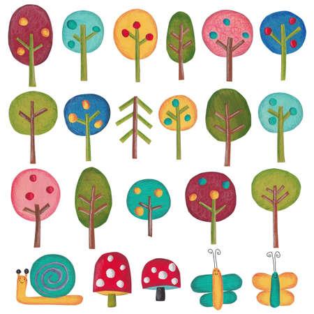 fairy: Fairy tale trees