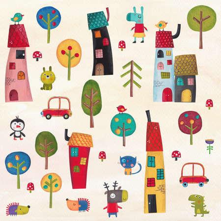 picture card: Illustration for children