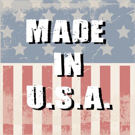 u  s  a: made in U S A