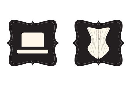 toilet door: toilet door retro sign, illustration vector format