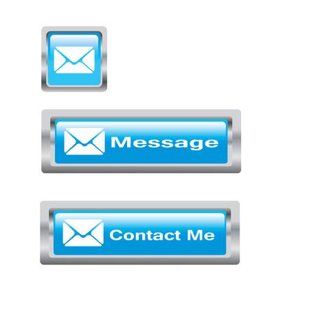 web buttons for website or app illustration vector format