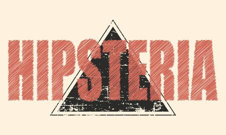 hipster mustache gentleman background, illustration vector format