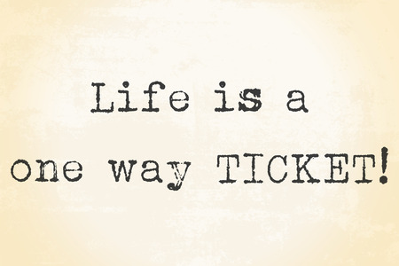 life motto background illustration