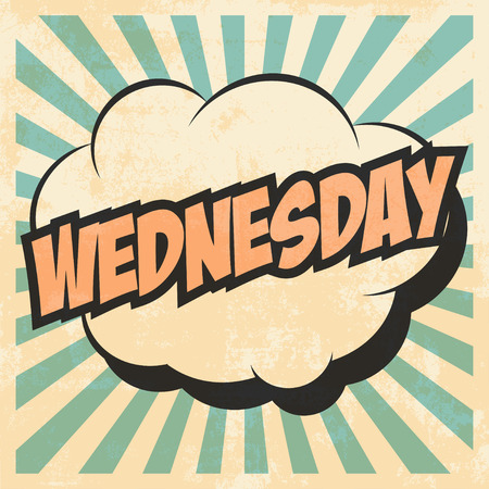 wednesday: wednesday pop art