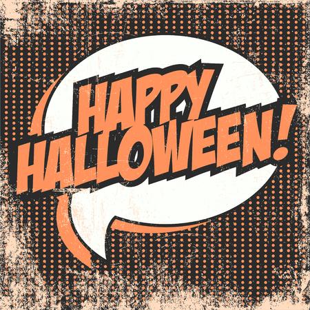 happy halloween: happy halloween background illustration