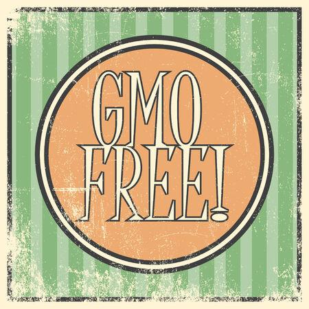 free background: gmo free background, illustration Illustration