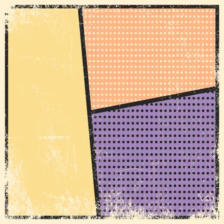 biff: pop art text bubble, illustration in vector format Illustration
