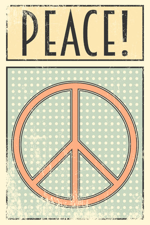 peacefull: peace day background, illustration in vector format