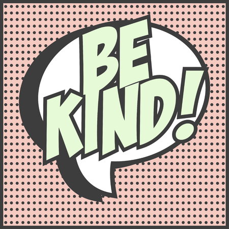 be kind background, illustration in vector format Vectores