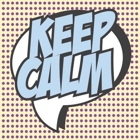 keep calm background