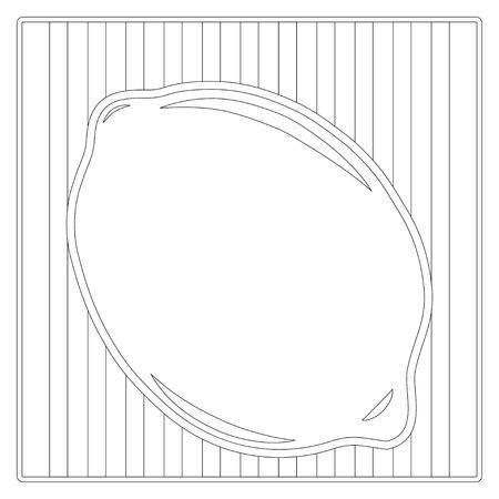 color book: lemon color book, illustration in vector format Illustration