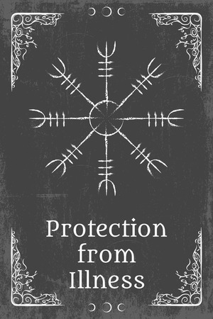 pentagram: alchemy magic symbol