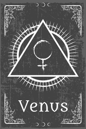 alchimie symbole magique, illustrations en format vectoriel